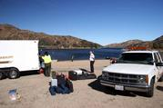 Joint opperations with San Bernardino County Sheriffs Dive team at Lake Silverwood