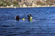 Divers in Lake Silverwood