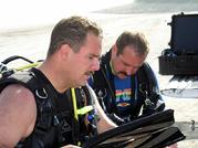 Gear is well maintained by the divers on the team LP 05