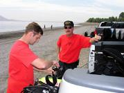 Boyd & Van Uhel on Training Day Lake Perris 05