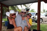 Deb, Doc and Me Orange Walk Belize C.A.