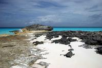 North coast of Little San Salvador Island Bahamas