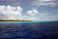 West coast of Little San Salvador Island Bahamas